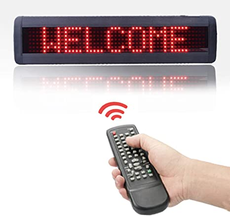 Amazon.com: HIDLY - Señal de mensaje LED programable de alta ...
