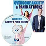 Overcome Anxiety and Panic Attacks Self Hypnosis CD. Hypnotherapy CD for Anxiety Relief