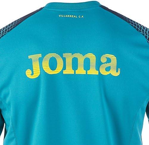 Joma - Villarreal Sudadera CE 17/18 Hombre Color: Azul Claro Talla ...