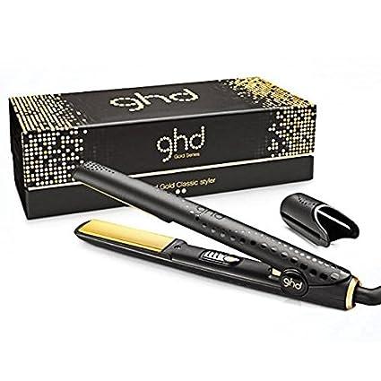 Ghd V Gold Professional Classic Styler Plancha Para El Pelo Color Negro