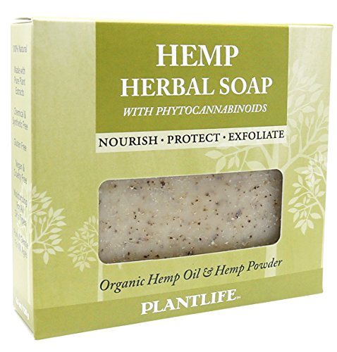 Plantlife Hemp Herbal Soap with Phytocannabinoids 4oz
