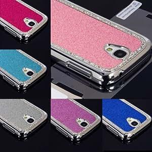 ModernGut For Samsung Galaxy S4 IV i9500 Bling Case Rhinestone Diamond Slim Ultra Fit Metallic Hard Case Cover + Screen Film/Protector