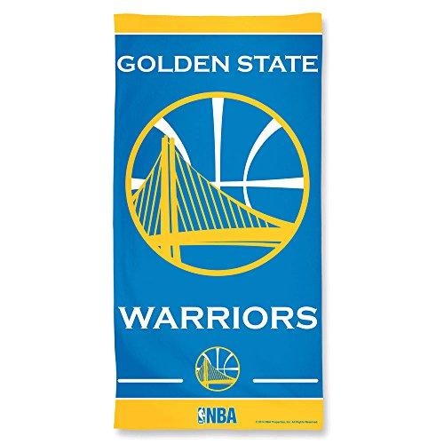 WinCraft NBA Golden State Warriors Fiber Beach Towel, 9lb/30 x 60 (Pool Warriors Golden State)