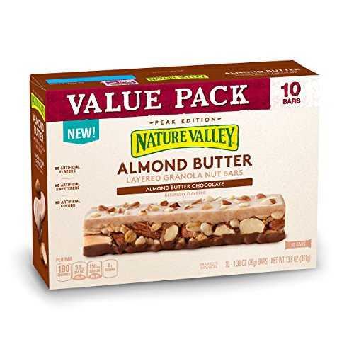 Nature Valley Almond Butter Layered Granola Nut Bars, 13.8 - Animals Layered