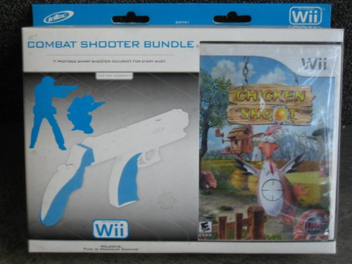 CHICKEN SHOOT Combat Shooter Bundle for Nintendo Wii