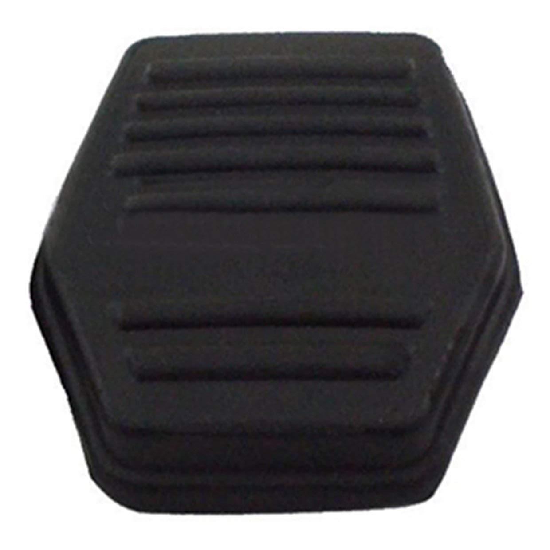 MXECO 1 par de embrague del freno del coj/ín del pedal del coj/ín de cubierta de goma reemplazo directo para Ford Transit MK7 MK6 2000-2014 Accesorios para el coche