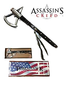 "17.5"" Assassin's Tomahawk Axe - Native American Cosplay - ""Honor the Creed"""