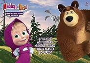 Masha e o Urso: Prancheta Para Colorir- Supersérie