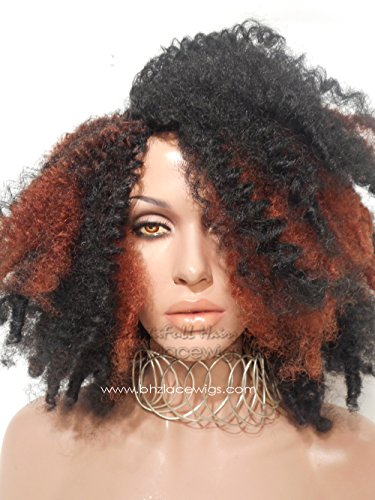 Kinky Afro twistout twist-out afro style Full cap TWIST OUT wig FULLCAP 038-039 wig natural hair full cap wig rihanna wig Nicki Minaj wig Taylor Swift wig drag queen wig - Glam Cap