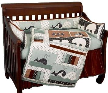 Amazon.com: Algodón Tale Designs Arctic Bebés sábanas para ...