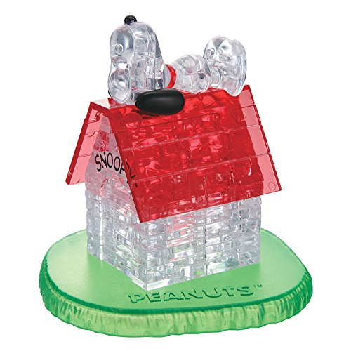 3D Crystal Puzzle - Snoopy House: 50 Pcs
