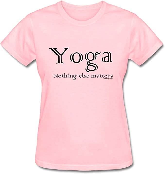 Amazon.com: Tuf Chick Womens Yoga – Nothing Else Matters T ...