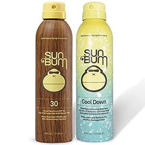 Sun Bum SPF 30 Spray Sunscreen + Aloe Spray by Sun Bum