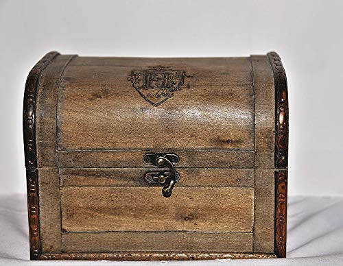 Photography Poster - Treasure Chest, Wood, Chest, 24''x19'', Gloss Finish