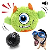 NEILDEN Interactive Dog Toys Plush Giggle Ball Toys Puppy Motorized Entertainment Automatic Electronic Shake Crazy Dog Toys Pets Exercise Boredom Bouncer Toys for Small to Medium Dogs