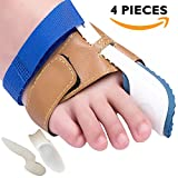 Bunion Corrector and Bunion Relief Sleeve with Gel Bunion Pads Toe separators Cushion Bunion Protector - Fight Bunions, Hallux Valgus Correction & More!(Small fit Men's 5-8.5, Women's 6-9.5)