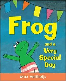 Znalezione obrazy dla zapytania frog and a very special day