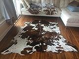 Tricolor Rodeo Cowhide Rug Large Size 5x7(150cm X210cm)