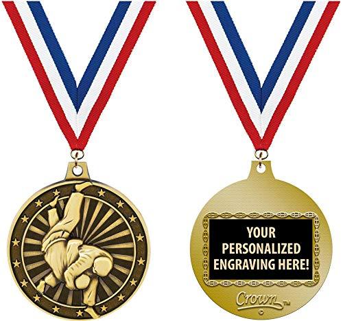Medal Martial Gold Arts - Judo Medals, 2