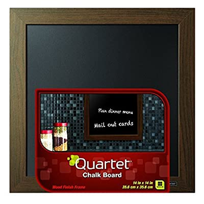Quartet Chalkboard, Wood Finish Frame