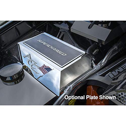 Elite Auto Chrome Acc Fuse Box Cover fit for 2015-2017 Dodge Charger Hellcat-Stainless ()