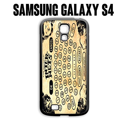 Phone Case Vintage Ouija Board Internets for Samsung Galaxy S4 Rubber Black (Ships from CA)