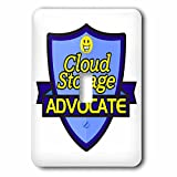 Dooni Designs – Funny Sarcastic Advocate Designs - Cloud Storage Advocate Support Design - Light Switch Covers - single toggle switch (lsp_242554_1)