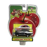Motor Max Fresh Cherries Black 1978 AMC Pacer Diecast Replica for Age 8+