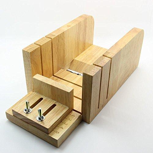 iBuy365 Multi-function adjustable Wood Soap Mold Loaf Cutter and Beveler Planer Set Cutter Mold