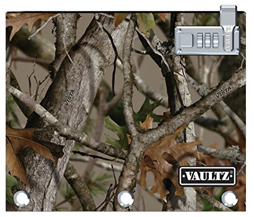 Vaultz Locking Binder Pouch, 8 x 10 Inches, Next Camo (VZ00479)