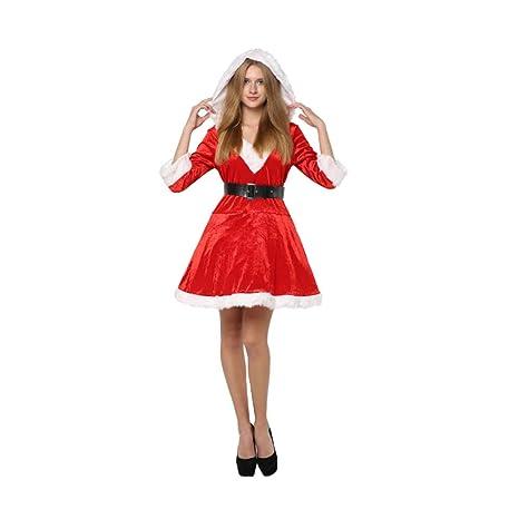 LHXHL Falda Corta Dama De Navidad,Ropa De Mujer Delgada De Santa ...