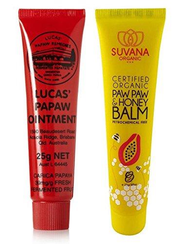 - Lucas Papaw 25gram + Suvana Paw Paw 25gram Combo