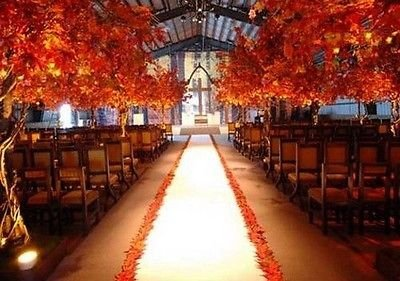 Aisle Runner White 50 Ft Long Satin Bridal Wedding 100% Polyester Satin 60 inch Wide Fabric White -