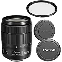 Canon EF-S 18-135mm f/3.5-5.6 IS USM Zoom Lens for Canon SLR Cameras (Certified Refurbished)