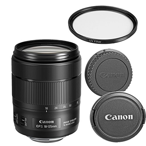 Canon EF-S 18-135mm f/3.5-5.6 IS USM Zoom Lens for Canon SLR