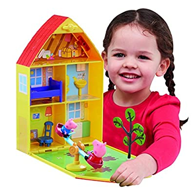 Peppa Pig 06156 Peppa's House & Garden Playset: Toys & Games