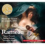 Rameau : Pièces de clavecin en concerts (1741). Pinnock, Podger, Manson.