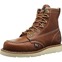 "Thorogood 814-4200 American Heritage 6"" Moc Toe Boot, Tobacco, 9.5 D US"