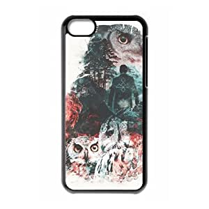 iPhone 5c Cell Phone Case Black Not What They Seem Inspired by Twin Peaks Yjiho