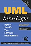 img - for UML Xtra-Light: How to Specify your Software Requirements (SIGS: Managing Object Technology) book / textbook / text book