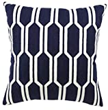 Chain Embroidery Stuffed Cushion LivebyCare 100% Pure Cotton Throw Pillow Stuffing Filling Pattern Zipper For Hotel Decorative Decor Chair Sofa Couch