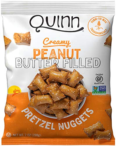 Quinn, Peanut Butter Filled Pretzels, 7 Ounce