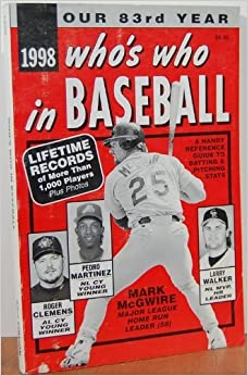 Who's Who In Baseball 1998 by ed. Norman MacLean (1998-08-02)