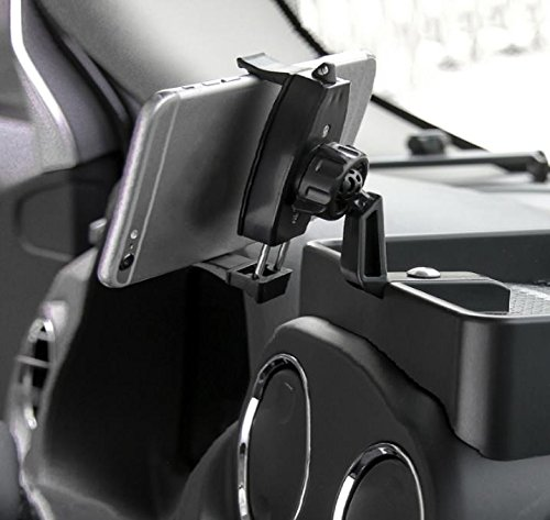 Nicebee ABS Mobile Phone Rack for 2010-2013 Jeep Compass 2014-2016 2.0L Sports and 2011-2016 Patriot by Nicebee (Image #6)