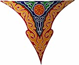 Egypt gift shops Triangle Egyptian Arabian Ethnic Ramadan Decorative Fringes Colorful Fabric Wall Table Eid Party Wedding Decorations