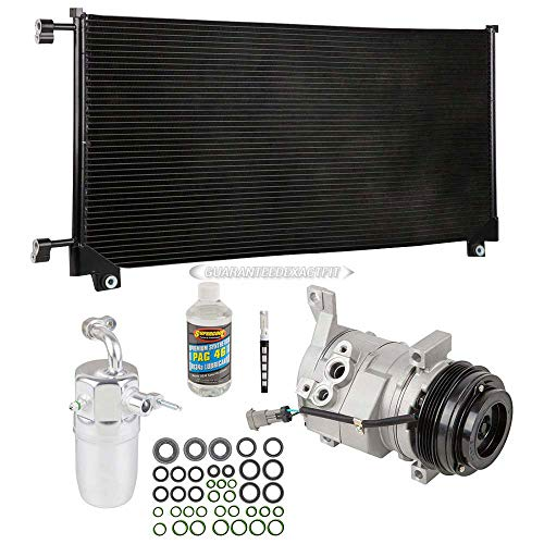 A/C Kit w/AC Compressor Condenser Drier For Chevy Tahoe GMC Yukon XL 2500 - BuyAutoParts 60-82435CK New
