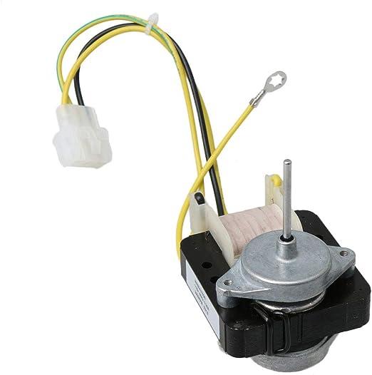 Yibuy WR60X10168 WR60X10220 Motor de ventilador de condensador de evaporador eléctrico compatible: Amazon.es: Bricolaje y herramientas