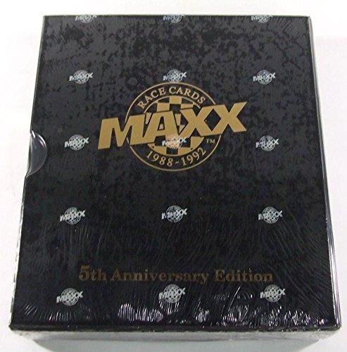 Maxx Nascar Racing - 1988-1992 Maxx Race Cards 5th Anniversary Edition Racing Factory Set - Nascar Trading Cards