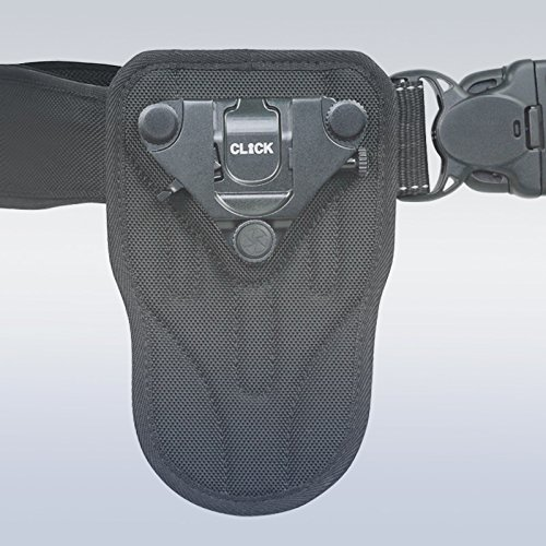 Click Plus Camera Holster Captures Pro DSLR- Step Up from Spider by Turbo Ace