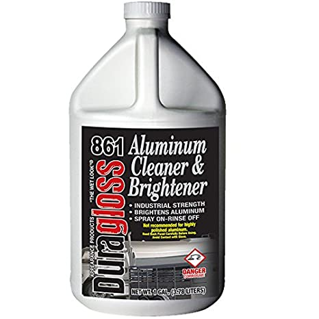 Duragloss 861 Automotive Aluminum Cleaner and Brightener 128  Fluid_Ounces